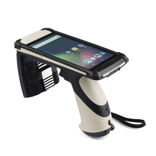 UHF ultra high frequency handheld reader 6 m Android Android support 6B\6C\Gen2-915MHz
